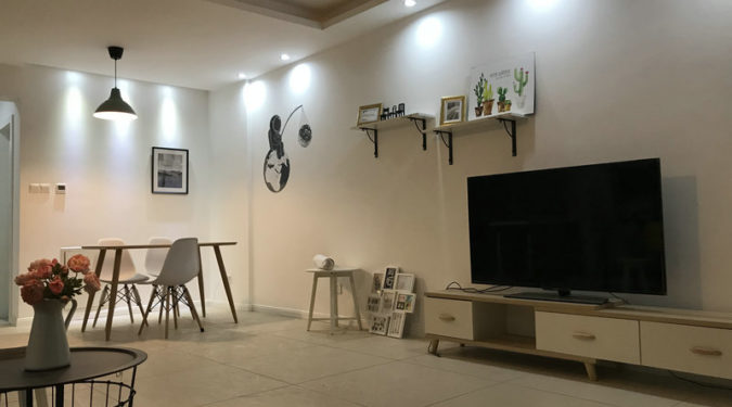 Tongzilin apartment in Chengdu