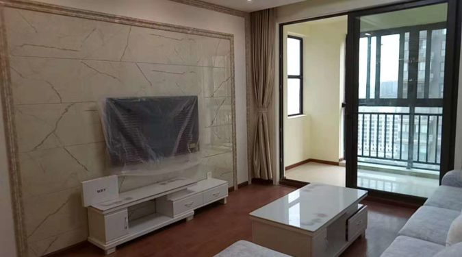 Chengdu flat rent with 3 rooms